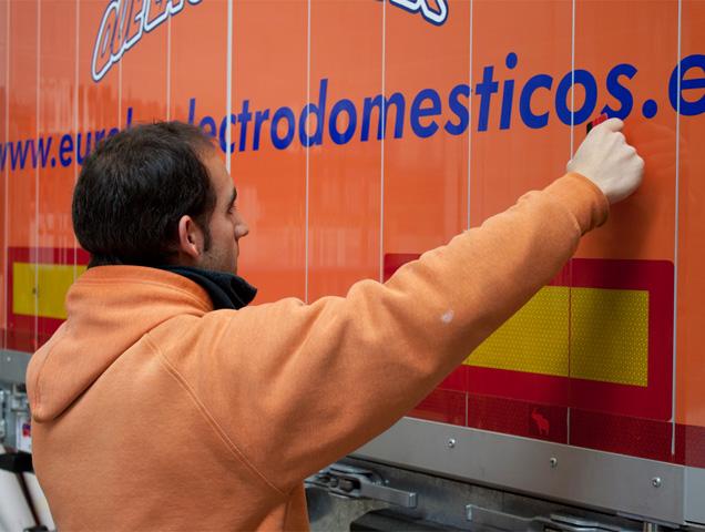 rotulacion de camiones en soria
