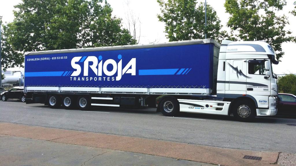 Rptulación de camiones en Soria y la Rioja