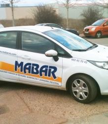 Rotulación vehículo Mabar