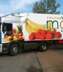 Rotulación de camión Frutas Martínez