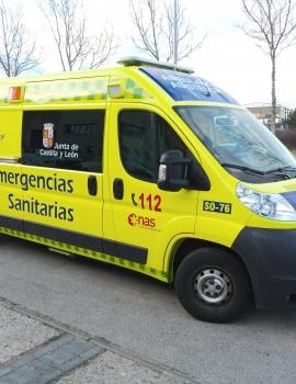 Rotulación de ambulancia para el Servicio de Emergencias