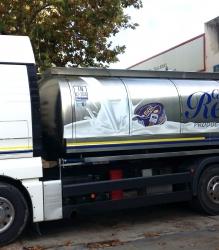 Rotulación de camión cisterna para Cañada Real