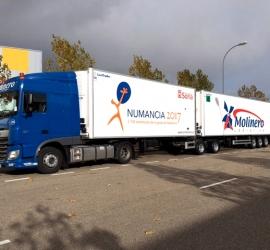 Rotulación de camiones para Molinero LogÍstica