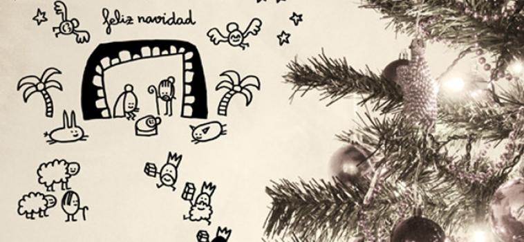 Vinilos navideños para decorar la casa