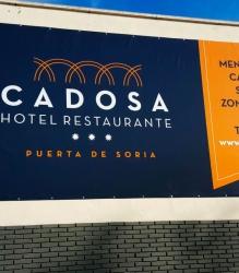 Lona y vinilos decorativos para Hotel Cadosa