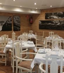 Decoración en el Restaurante El Fogón del Salvador