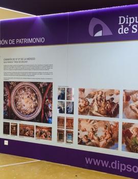 Diseño y Rotulación del stand de la feria AR&PA de Valladolid