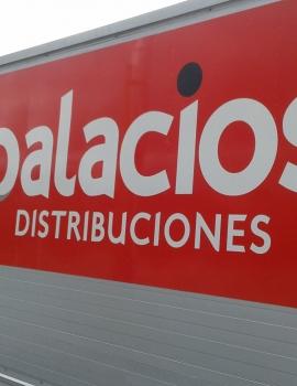 Rotulación Fachada Palacios