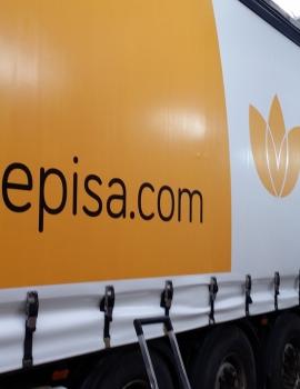 Rotulación de camión para Gepisa