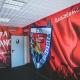 Vinilos, Serigrafía y decoración en los túneles de vestuarios del fútbol