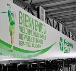 Rotulación de la fábrica de Replay Golf