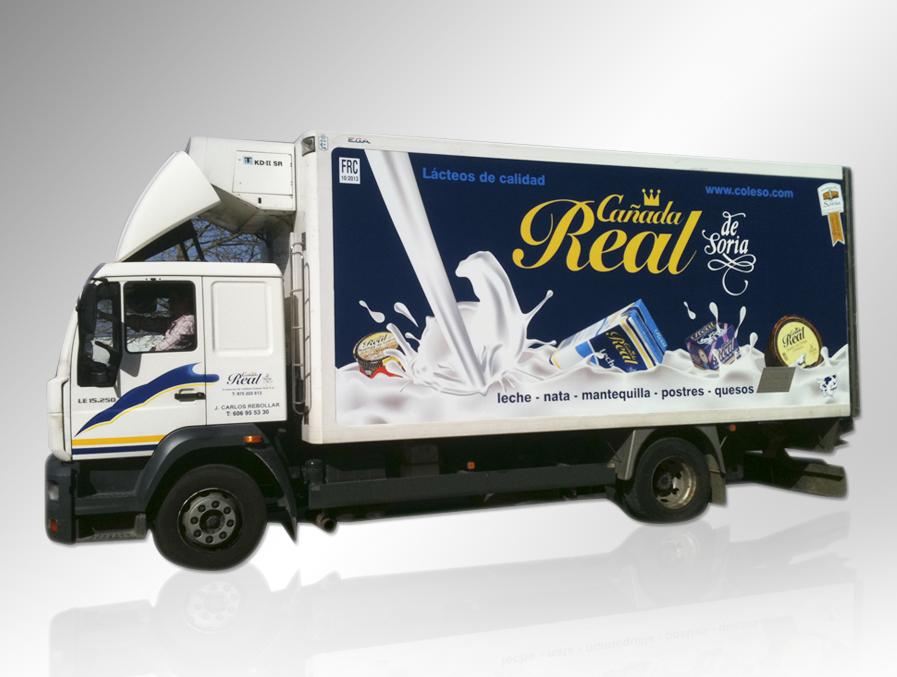 Diseño para camión de Cañara Real Soria