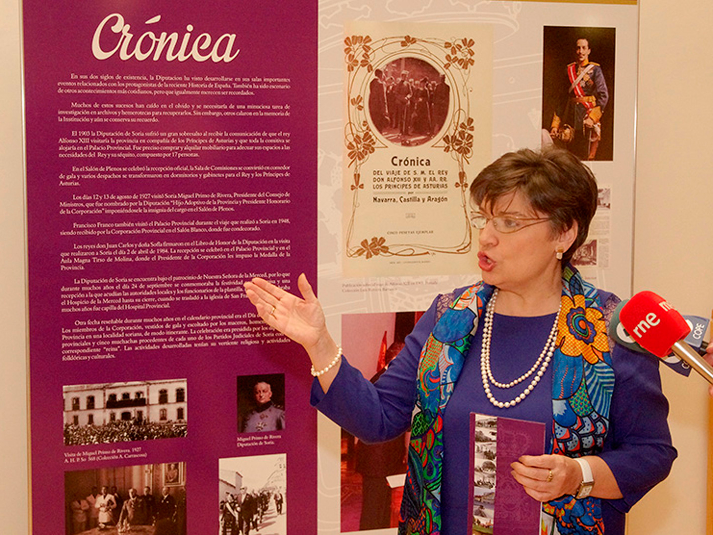 Exposición 200 años Diputación de Soria