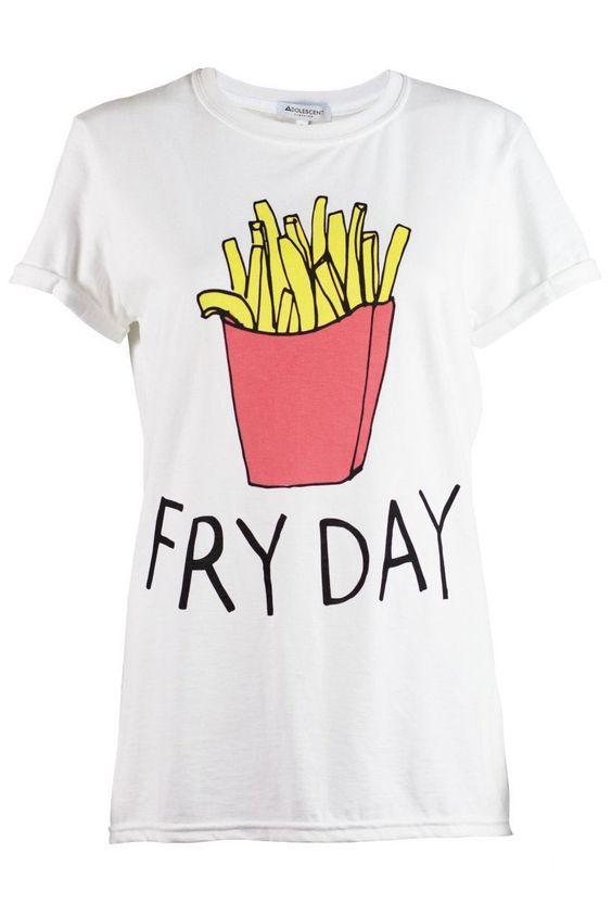 Diseño de camisetas personalizadas para vestir los viernes